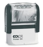 Colop Printer 30 45x16mm Personalised Self Inking Stamp