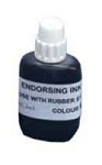 Endorsing Ink 1oz - 28ml For use with Traditional Rubber Stamp Pads