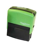 MaxStamp E3 Eco Self Inking Stamp 57x21mm Maxum SI-30 100% Recycled