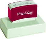 MaxLight Pre Inked Personalised Stamp XL800 - 115x80mm