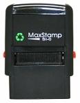 MaxStamp SI-5200 Self Inking Stamp 28x6mm Maxum 5200
