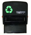 MaxStamp SI-10 Self Inking Stamp 36x13mm Maxum 1