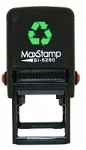 MaxStamp SI-5280 Self Inking Stamp 28x28mm Maxum 5280
