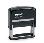 Trodat Printy 4917 Self Inking Stamp 48x8mm