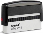 Trodat Printy 4916 Self Inking Stamp 68x9mm